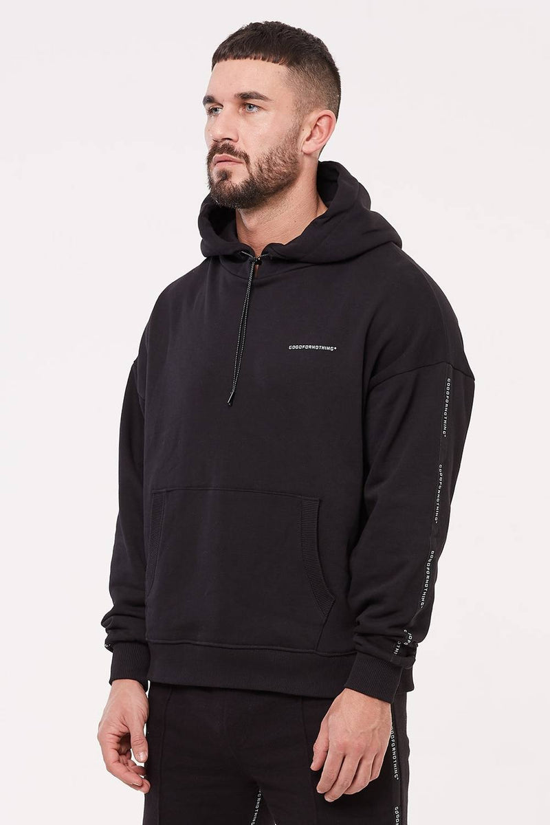 Good For Nothing Future Hoodie - Black