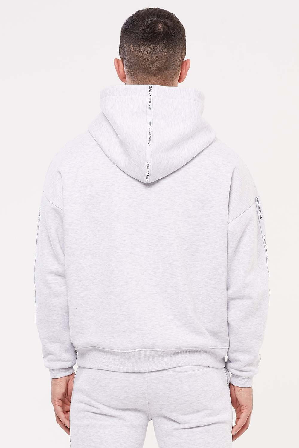 Good For Nothing Future Hoodie - Grey - 4