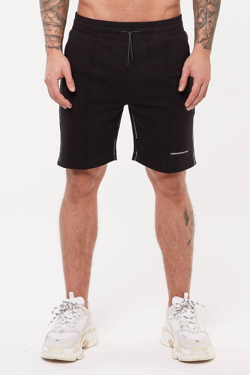 Good For Nothing Future Jersey Shorts - Black - 2