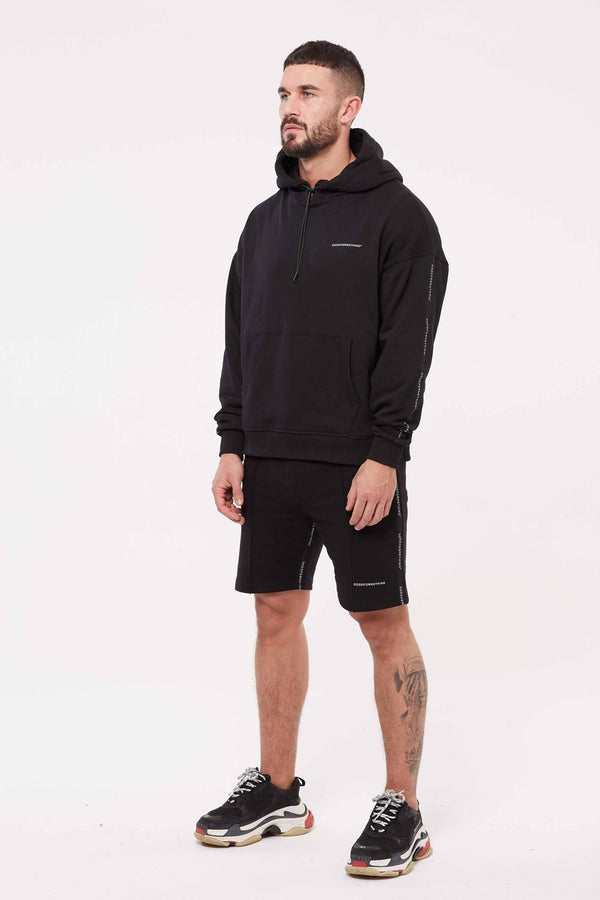 Good For Nothing Future Jersey Shorts - Black - 1