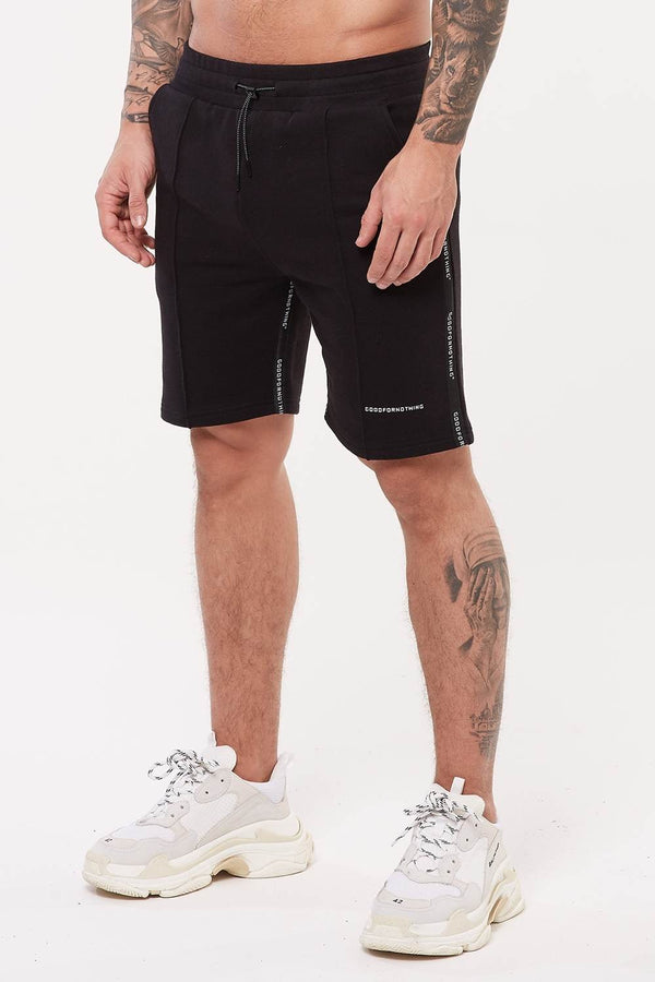 Good For Nothing Future Jersey Shorts - Black