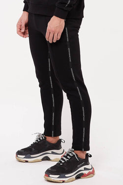Good For Nothing Future Taped Joggers - Black
