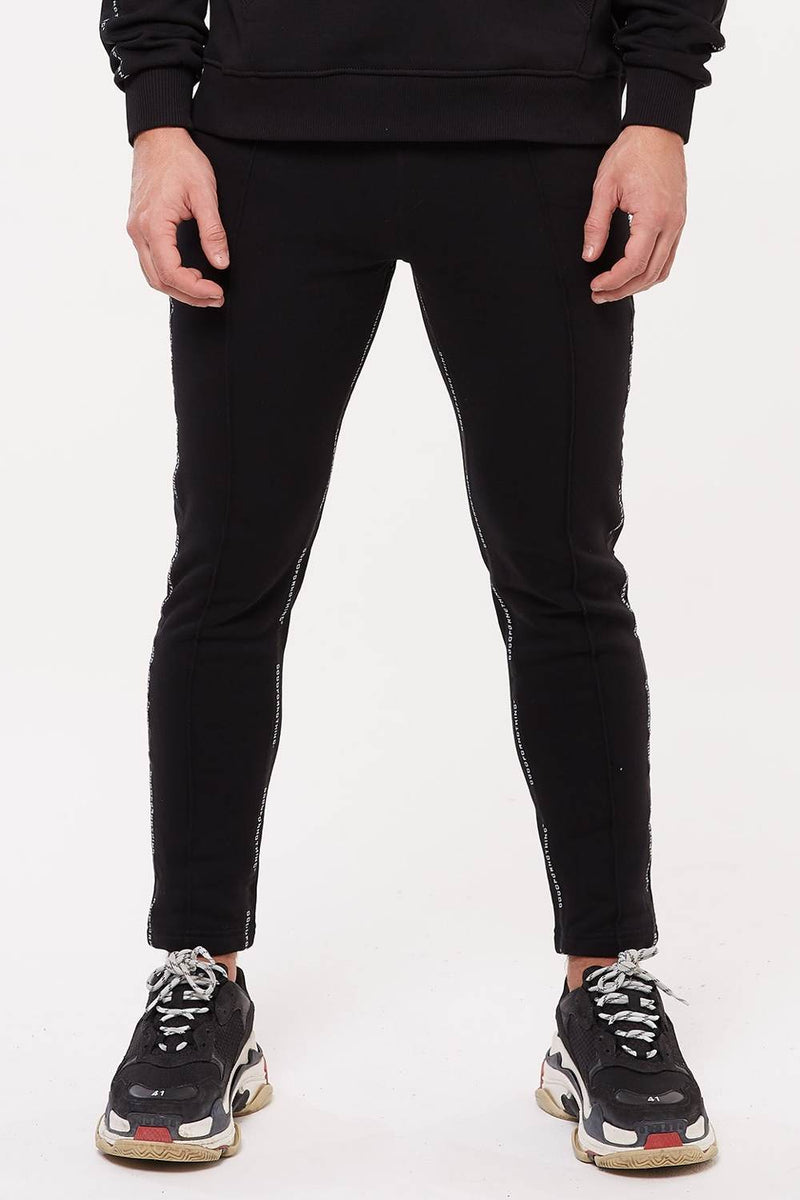 Good For Nothing Future Taped Joggers - Black - 2