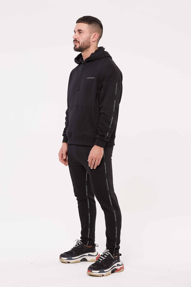 Good For Nothing Future Taped Joggers - Black - 1
