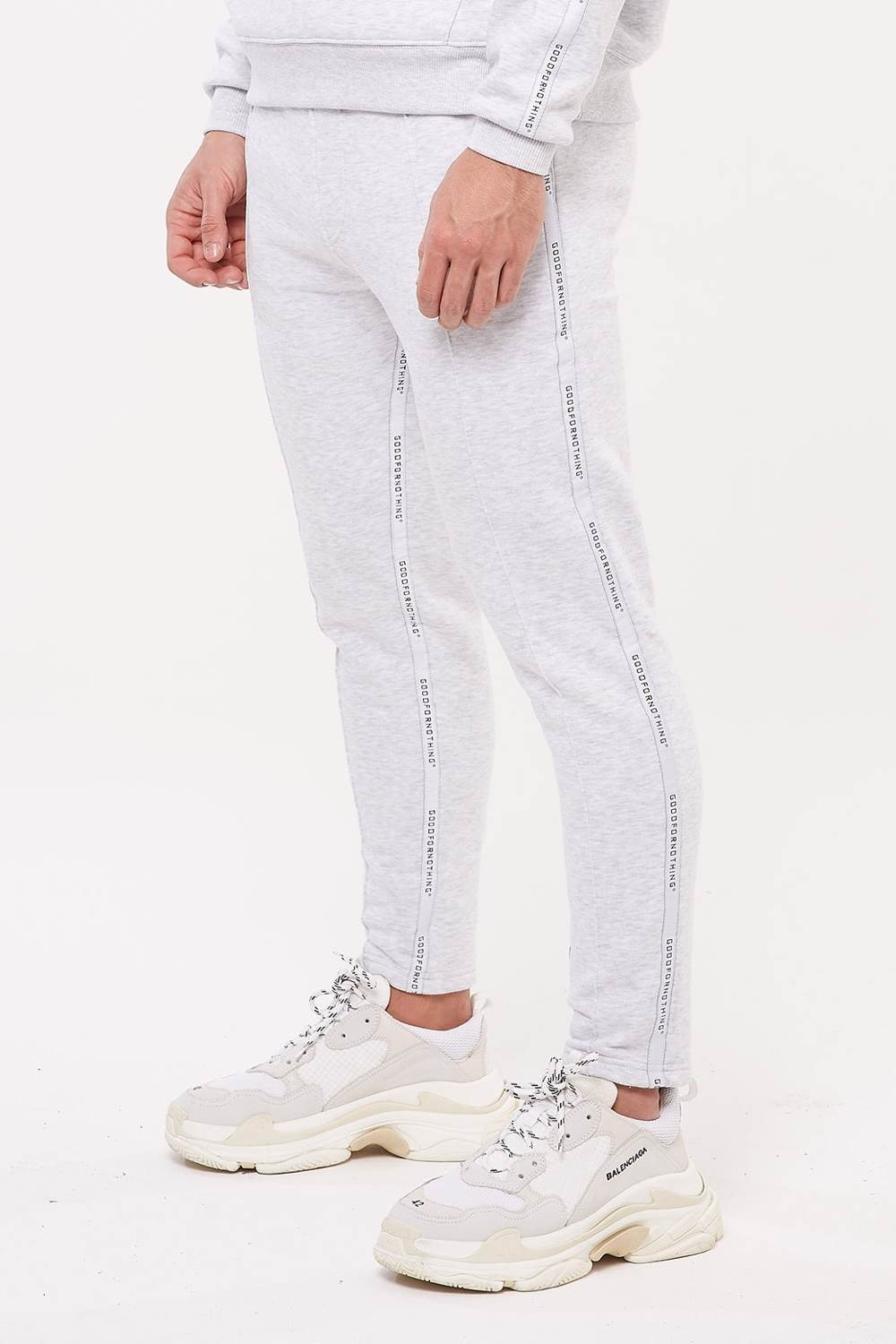 Good For Nothing Future Taped Joggers - Grey