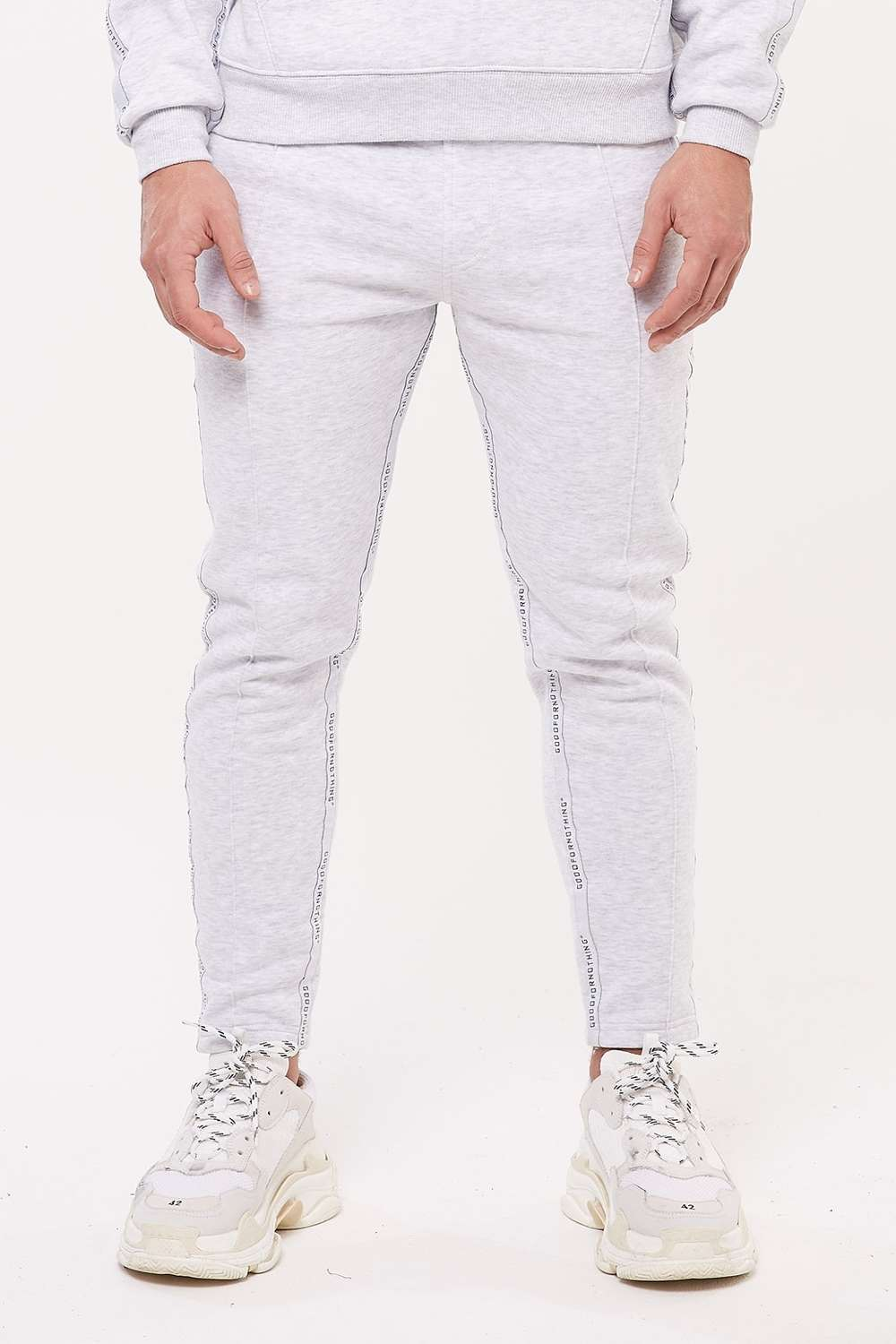 Good For Nothing Future Taped Joggers - Grey - 2