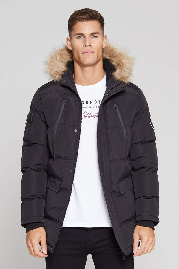 Good For Nothing Glacier Parka Jacket - Black - 3