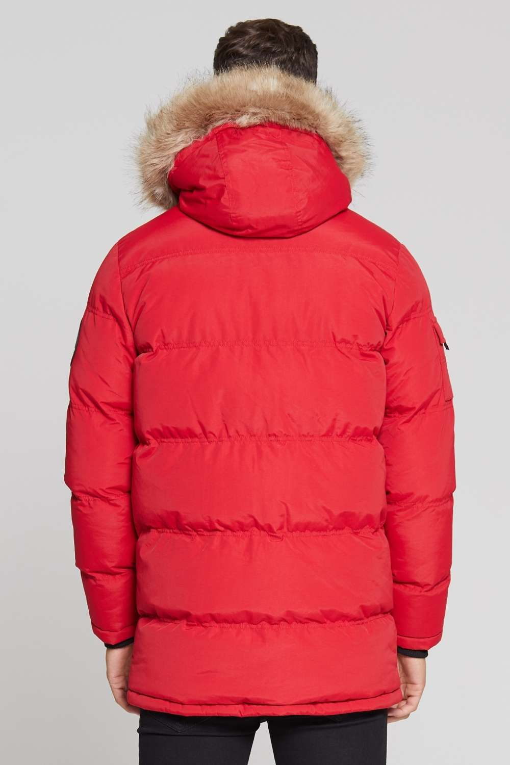 Good For Nothing Glacier Parka Jacket - Red - 4