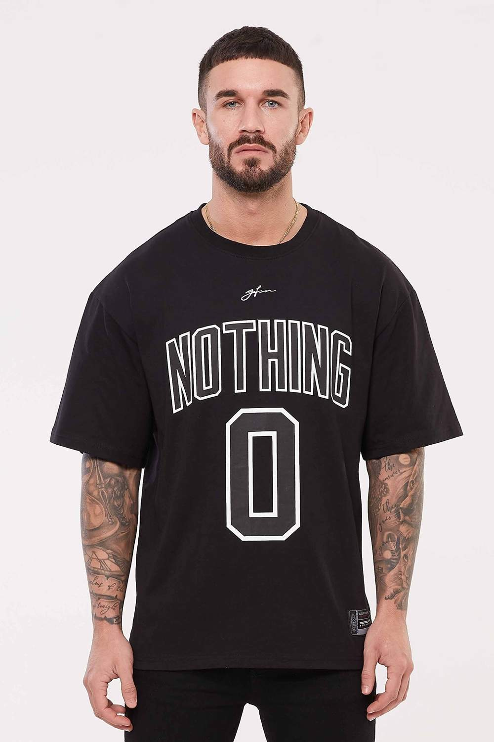 Good For Nothing Oversized Nothing Jersey - Black - 2