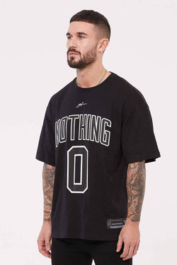 Good For Nothing Oversized Nothing Jersey - Black