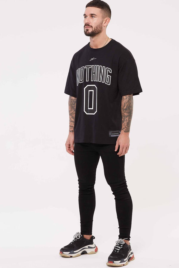 Good For Nothing Oversized Nothing Jersey - Black - 1