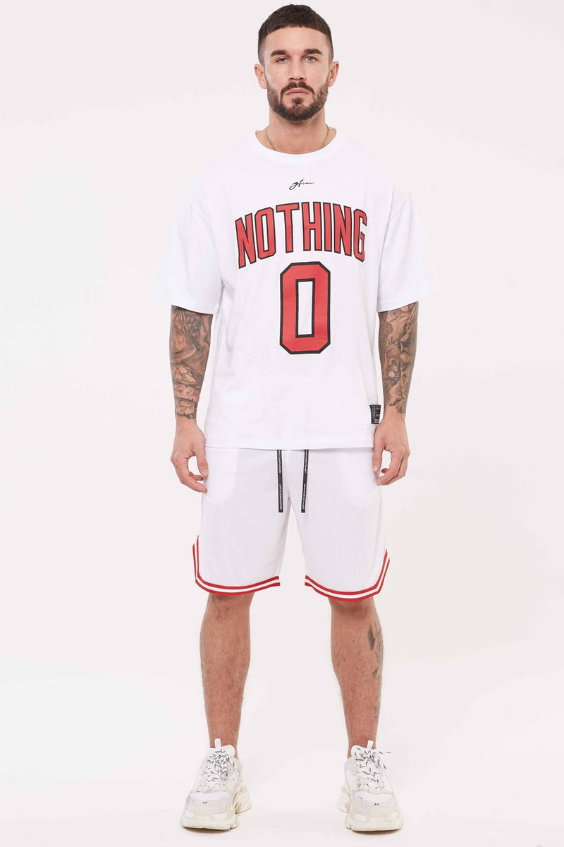 Good For Nothing Oversized Nothing Jersey - White - 2