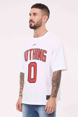 Good For Nothing Oversized Nothing Jersey - White