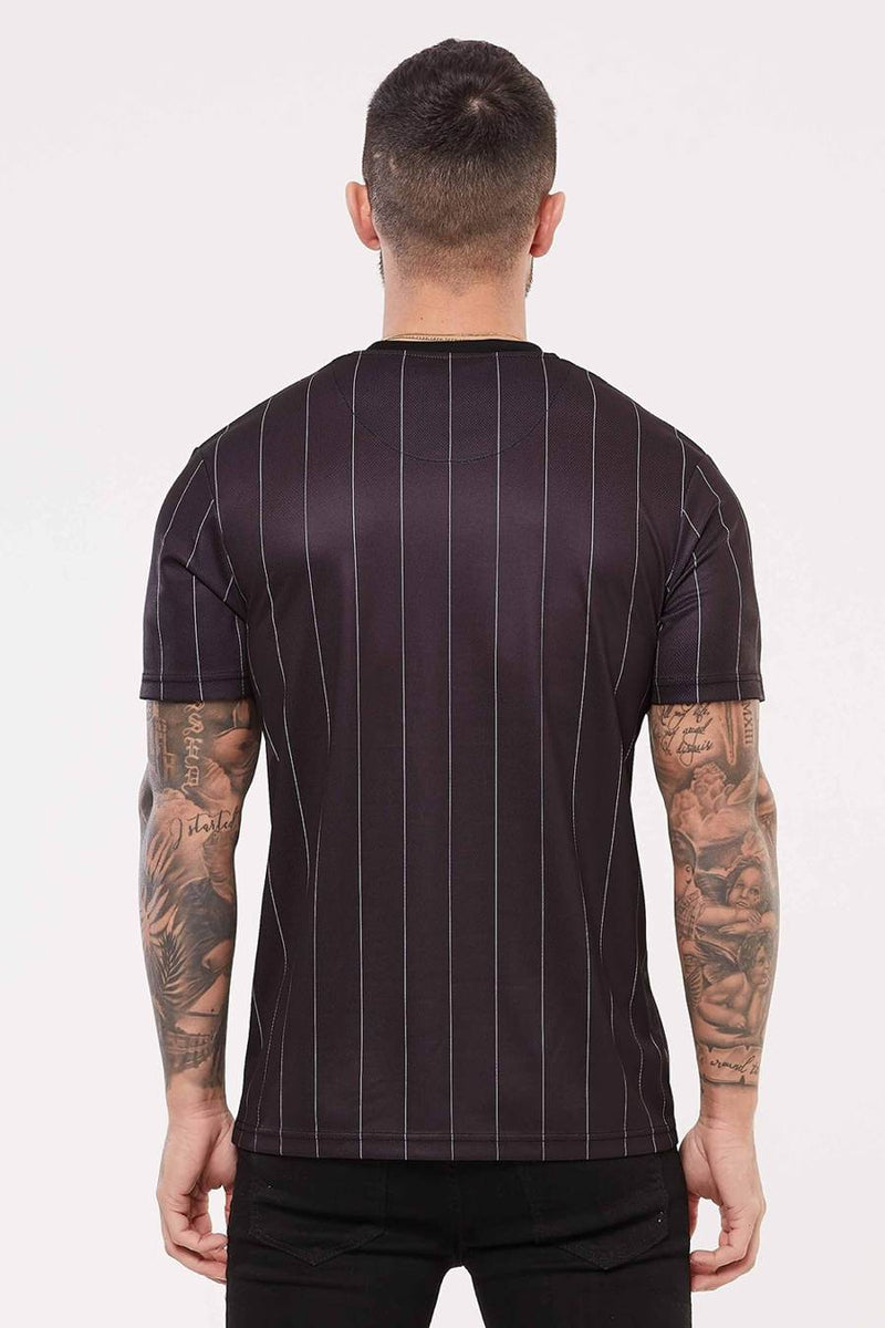 Good For Nothing Pinstripe Nothing Jersey - Black - 2