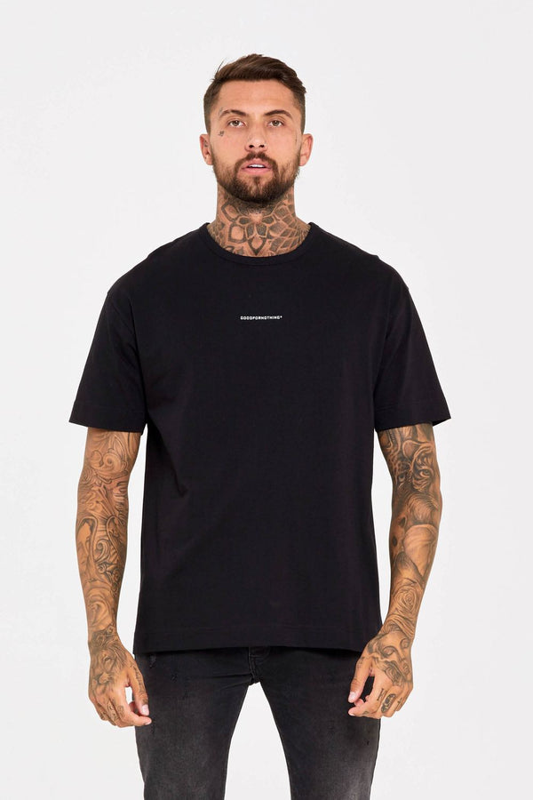 Good For Nothing Oversized T-Shirt - Black
