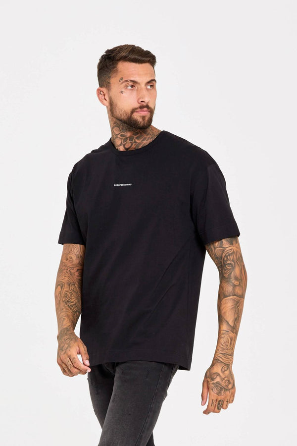 Good For Nothing Oversized T-Shirt - Black - 1