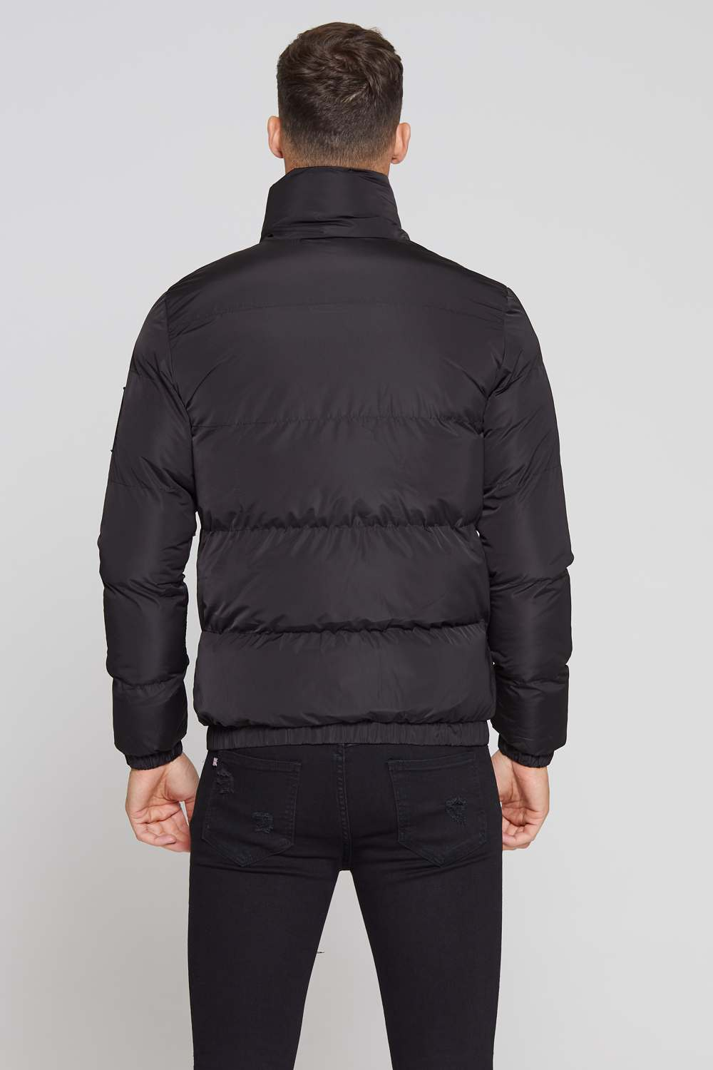 Good For Nothing Road Puffer Jacket - Black - 3