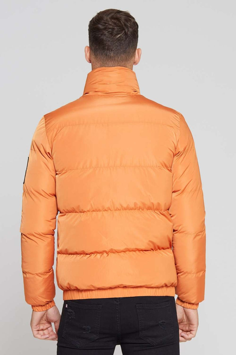 Good For Nothing Road Puffer Jacket - Orange - 2