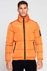 Good For Nothing Road Puffer Jacket - Orange