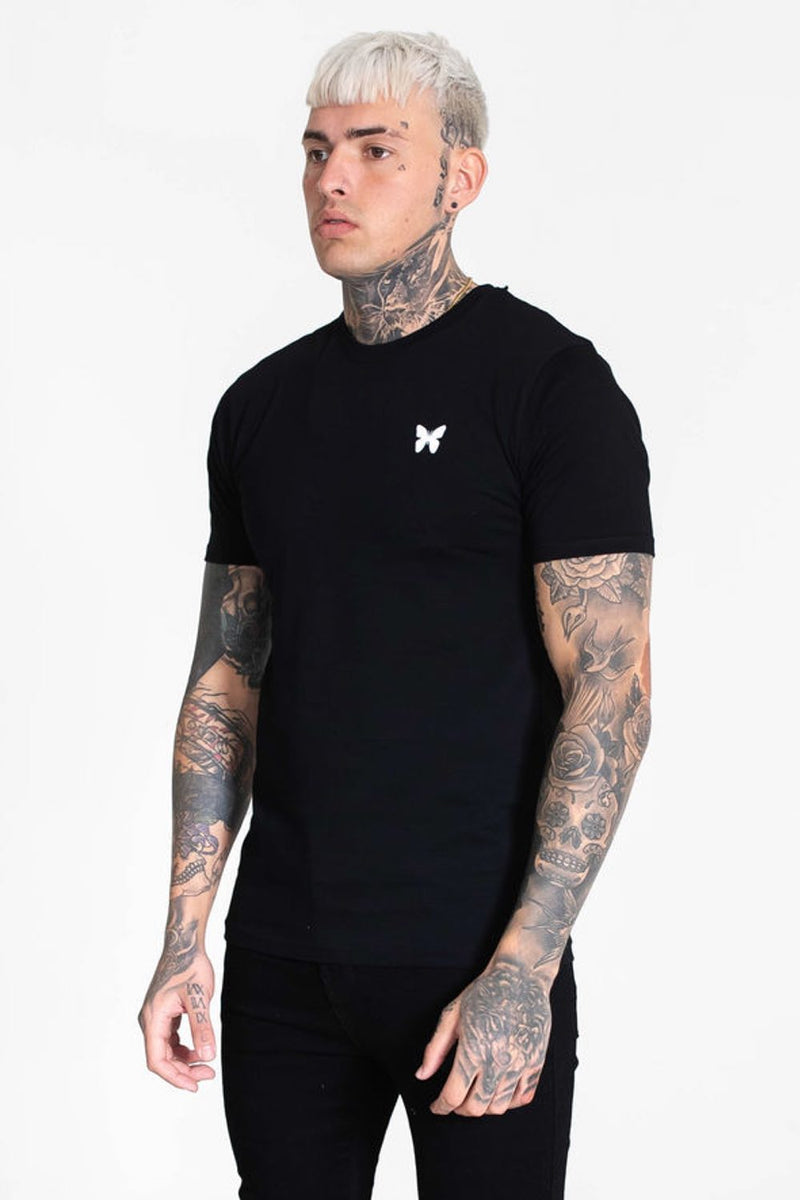 Good For Nothing Taped Back T-Shirt - Black - 2