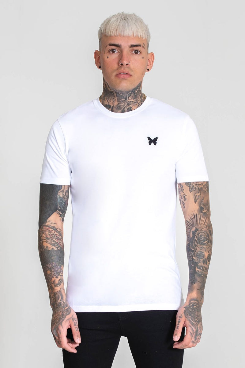 Good For Nothing Taped Back T-Shirt - White