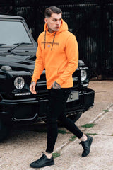 Good For Nothing Technical Hoodie - Orange - 2