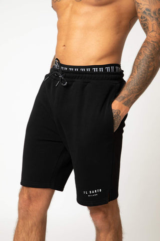 IL Sarto Diego Fleece Shorts - Black