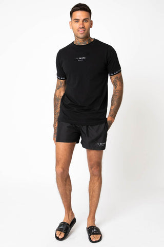 IL Sarto Diego Swim Shorts - Black - 2