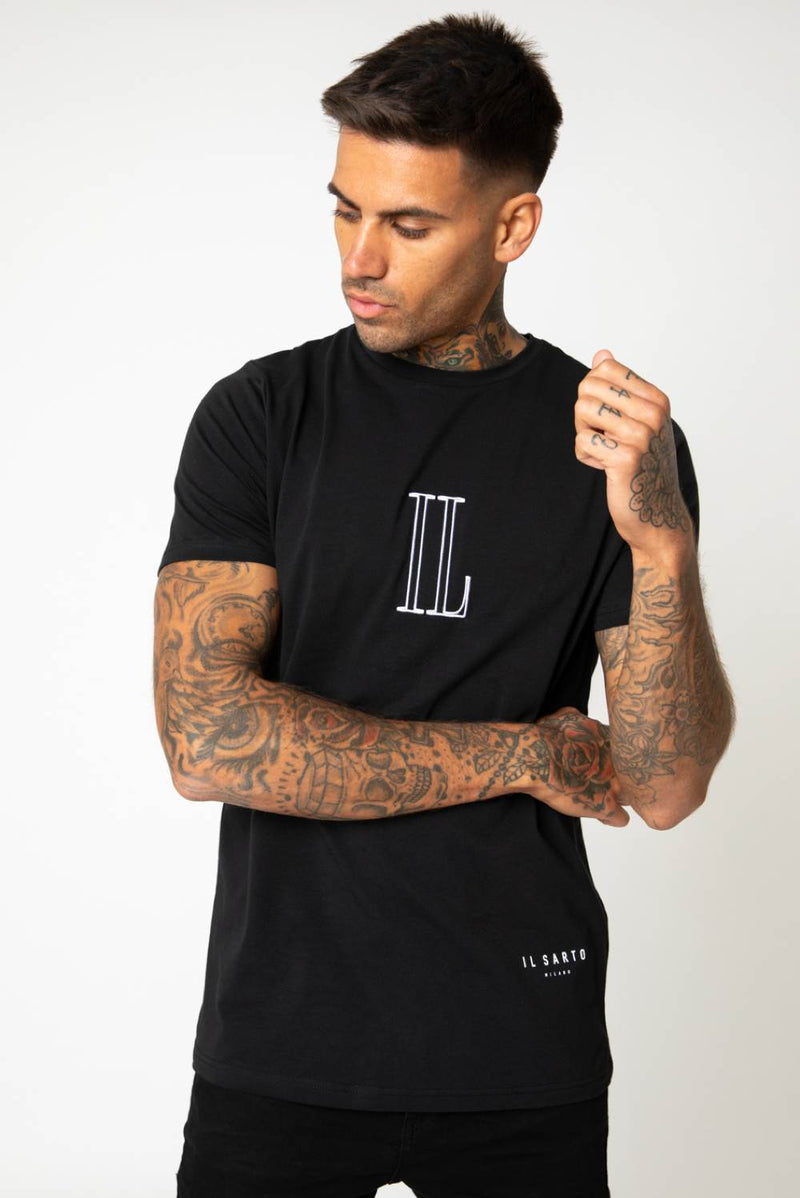 IL Sarto Essential T-Shirt - Black - 3