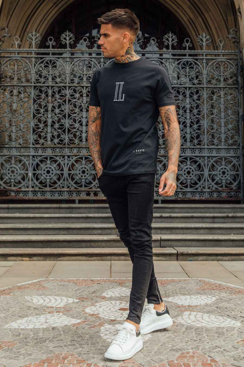 IL Sarto Essential T-Shirt - Black - 1