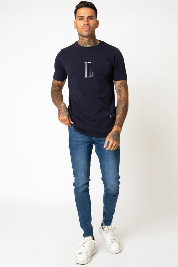 IL Sarto Essential T-Shirt - Navy - 1