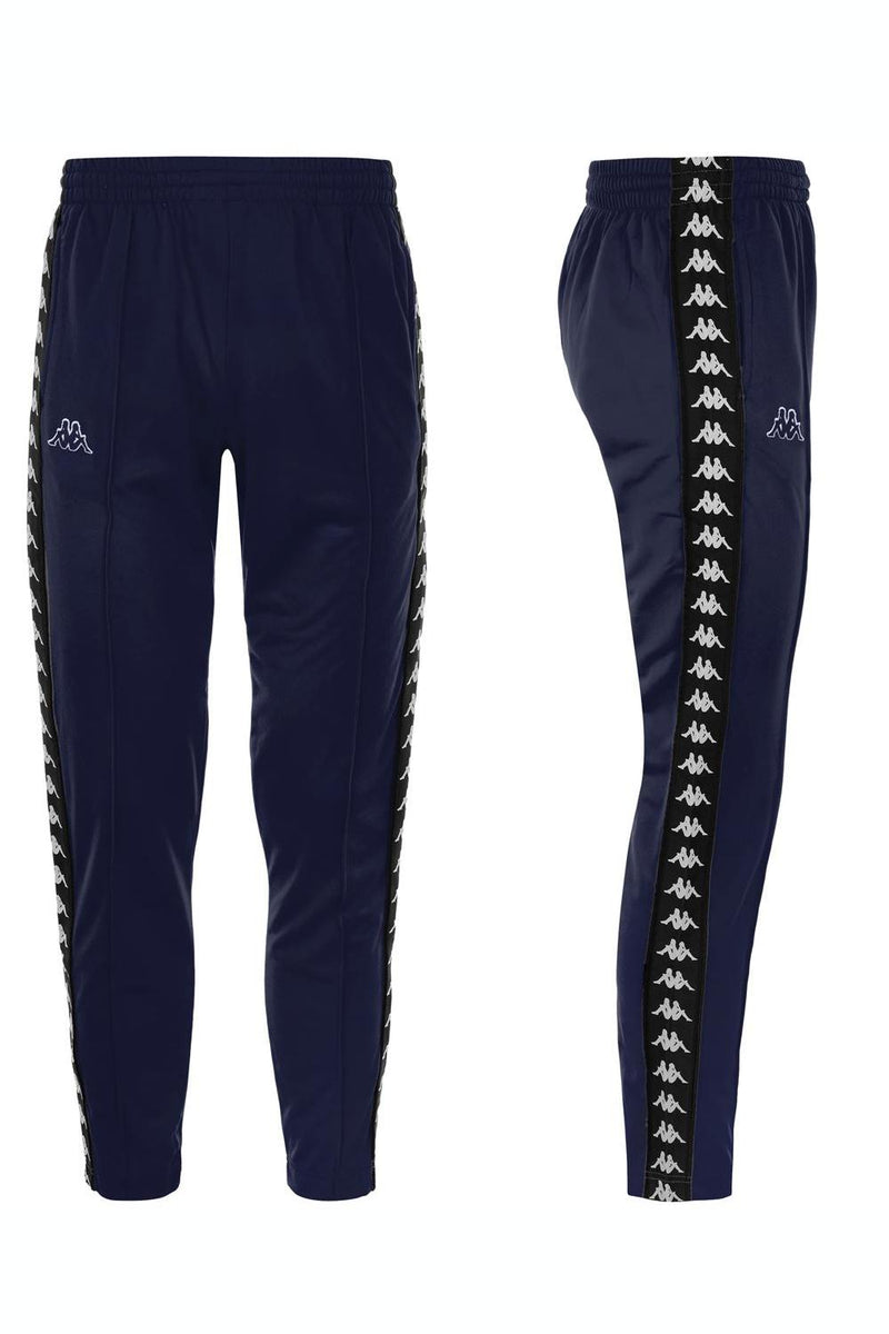 Kappa Astoria Slim Track Jogger Pants - Blue/Black