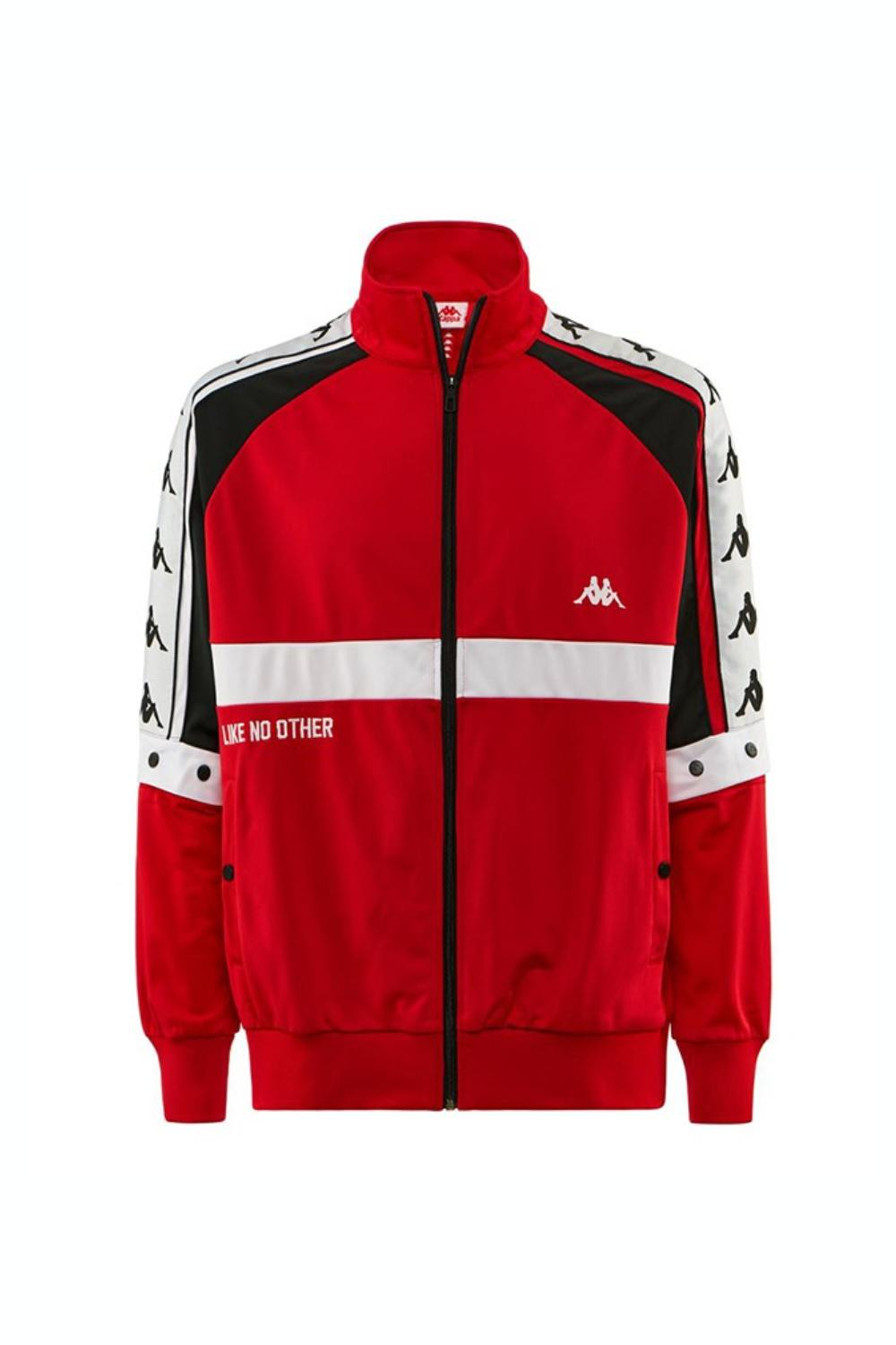 Kappa Authentic Bafer Track Jacket - Red/Black/White