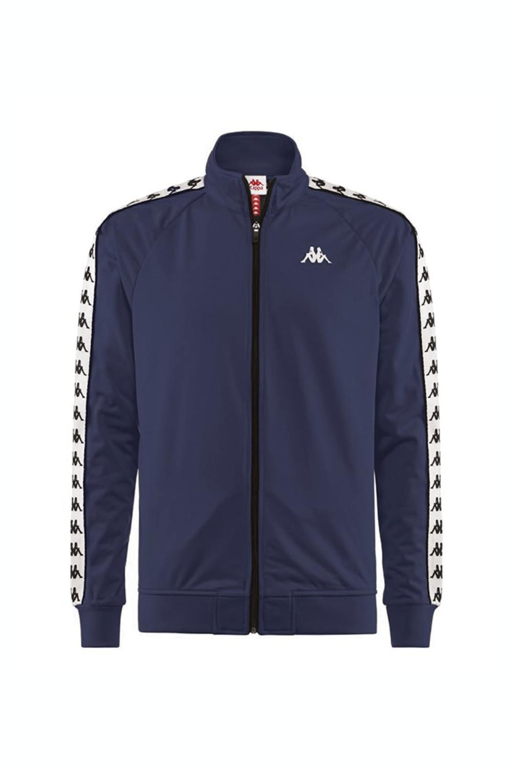 Kappa Banda Anniston Track Top - Blue/White/Black