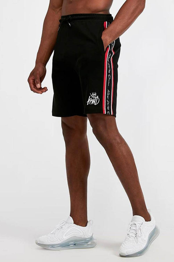 Kings Will Dream Rosley Shorts - Black/Red/White
