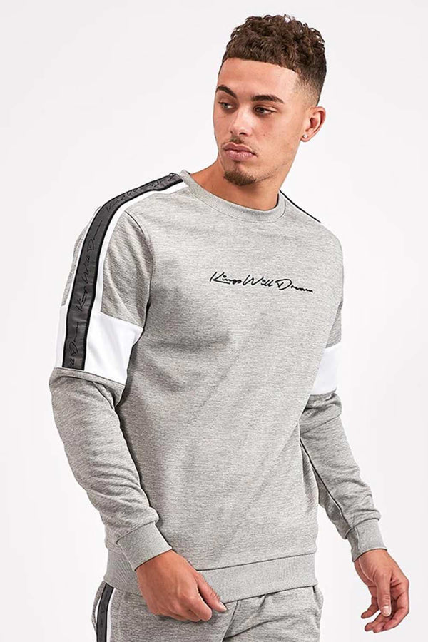 Kings Will Dream Tarves Poly Sweatshirt - Grey Marl