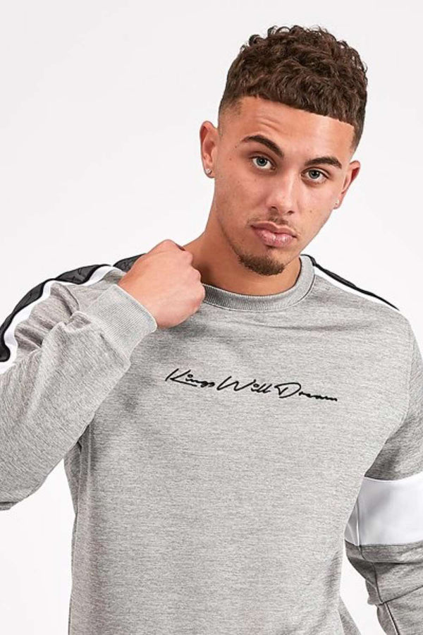 Kings Will Dream Tarves Poly Sweatshirt - Grey Marl - 1
