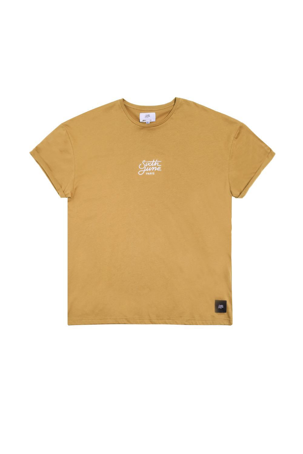 Sixth June Oversized Logo T-Shirt - Sand