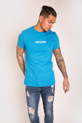 Mejor Clothing Barce Tee - Blue