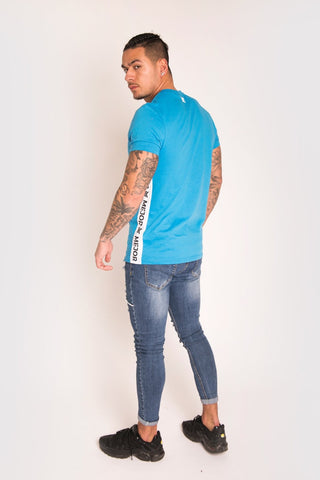 Mejor Clothing Barce Tee - Blue - 1