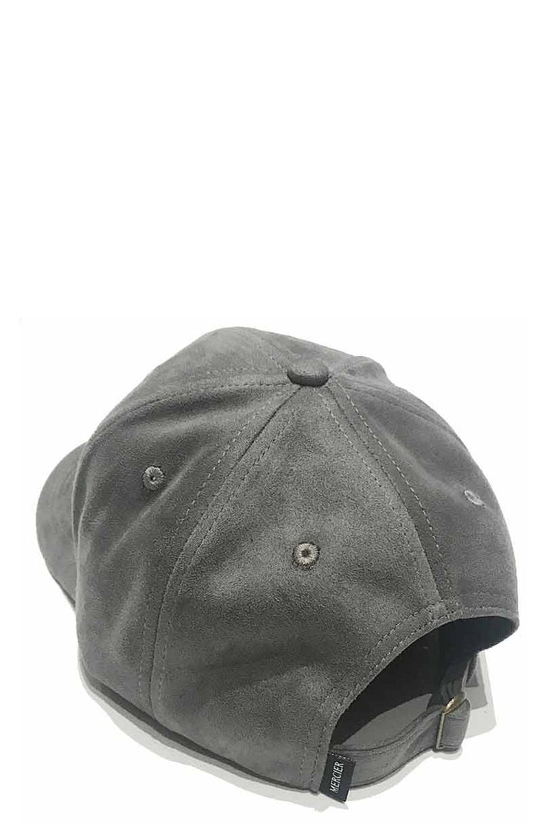 Mercier 1991 Suede Trucker Cap - Grey - 1