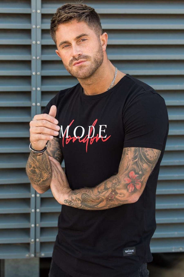 Mode London Autograph T-Shirt - Black - 1