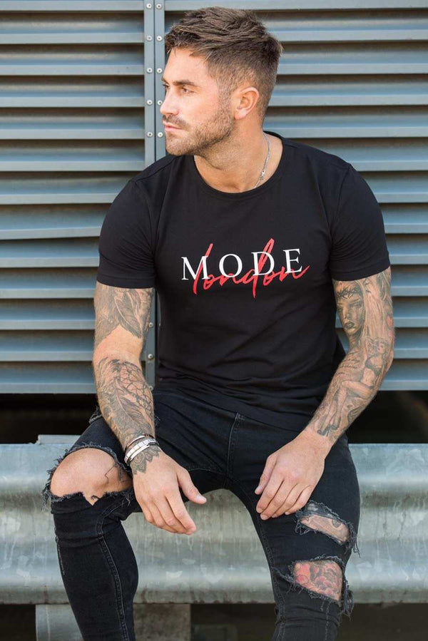 Mode London Autograph T-Shirt - Black - 2