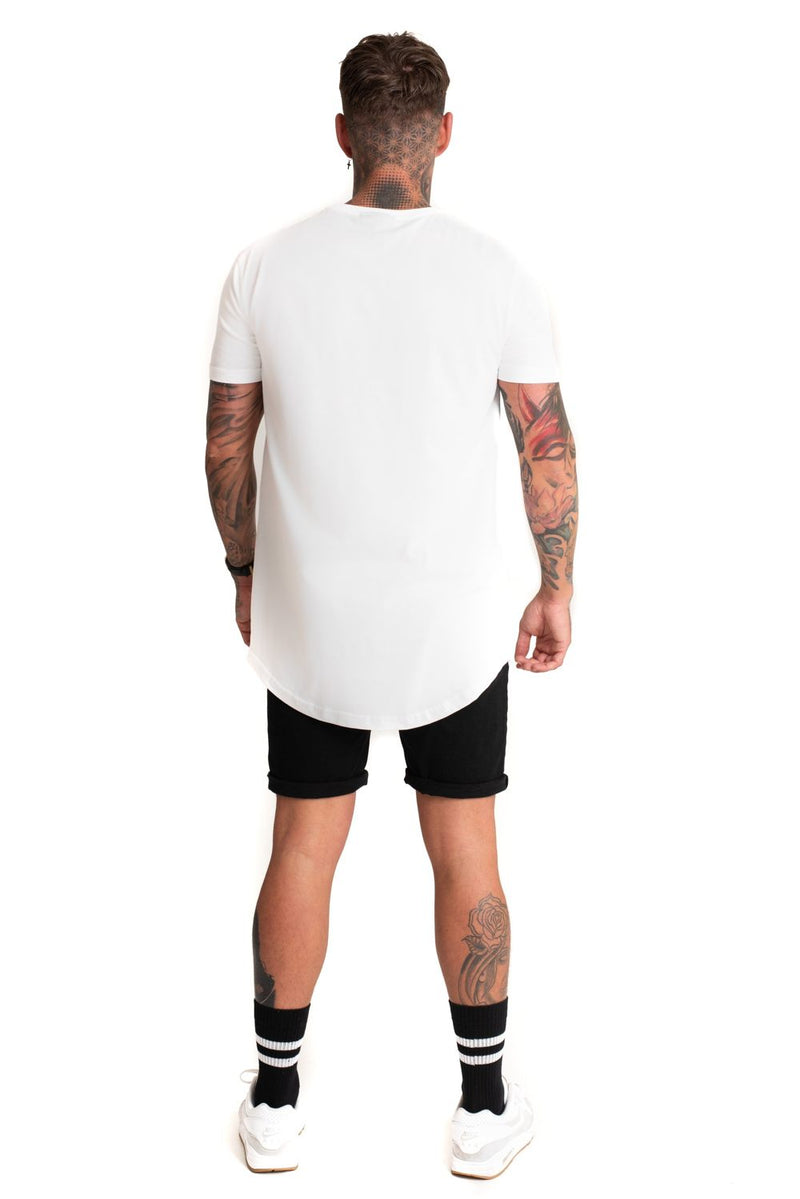 Mode London Core T-Shirt - White - 2