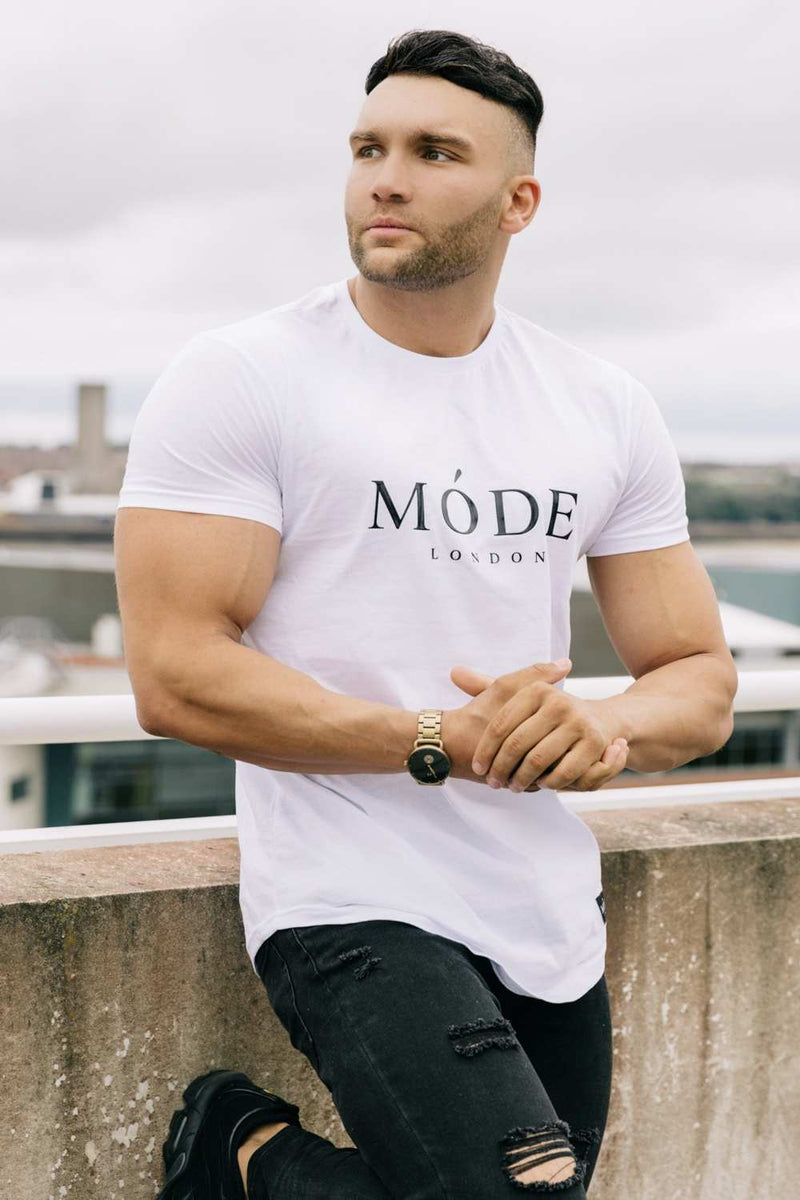 Mode London Core T-Shirt - White - 1