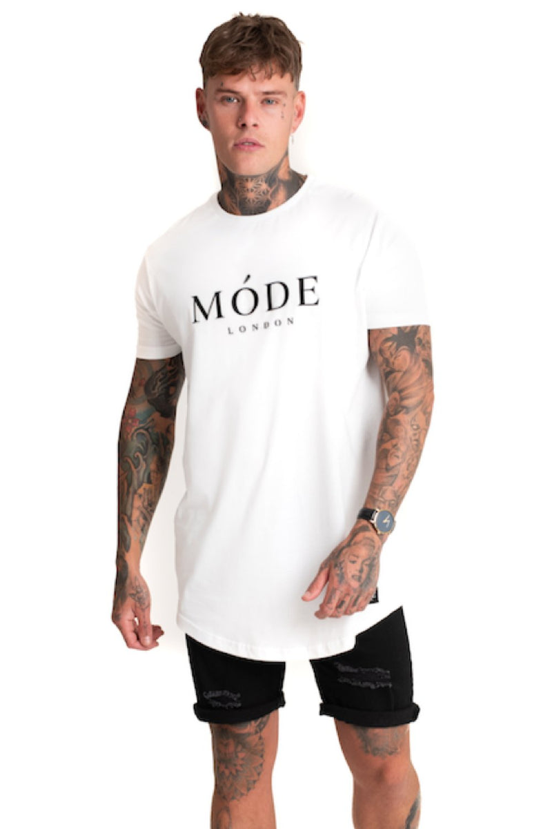 Mode London Core T-Shirt - White