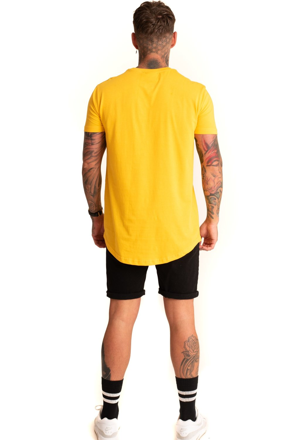 Mode London Core T-Shirt - Yellow - 3