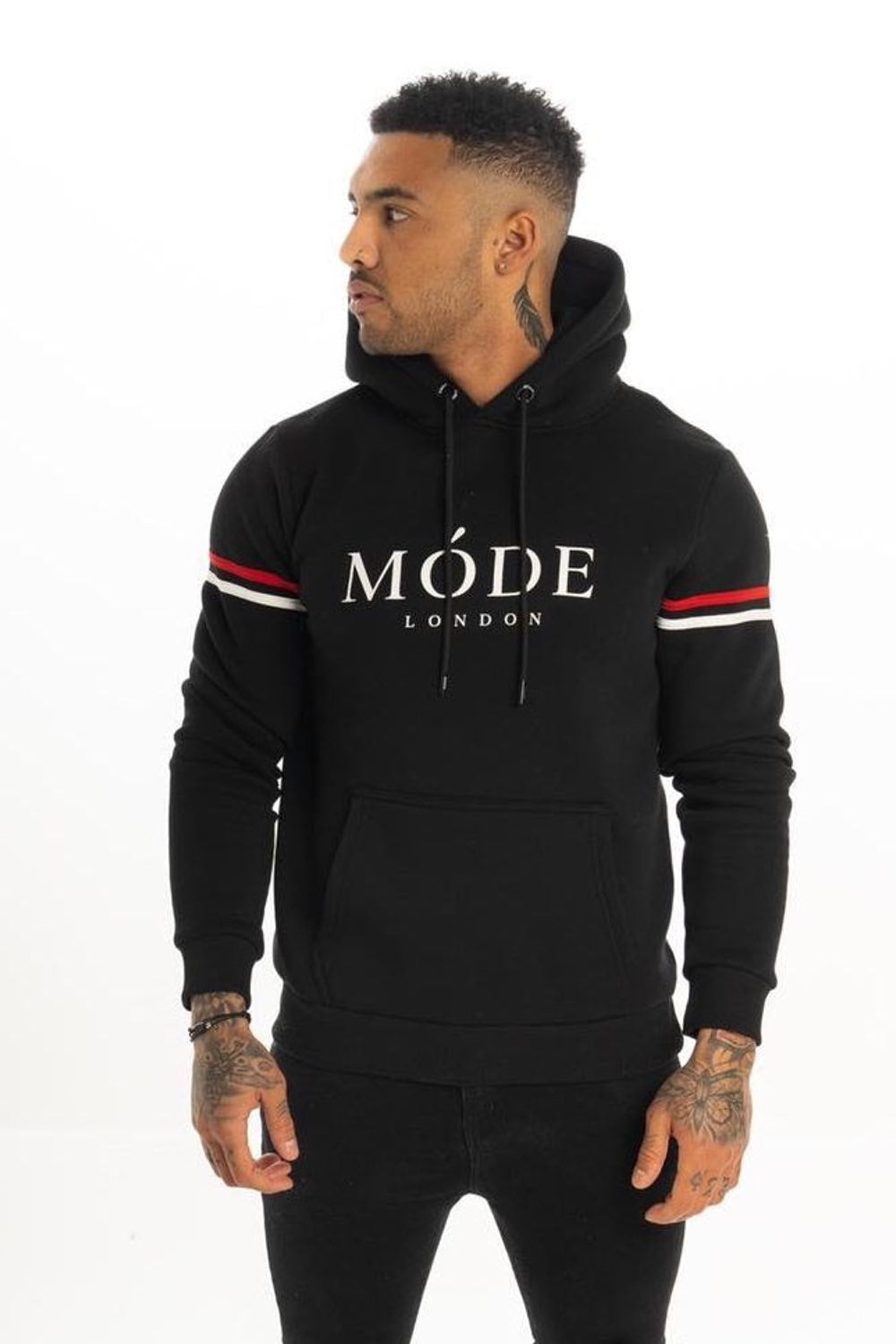 Mode London Mayfair Hoodie - Black