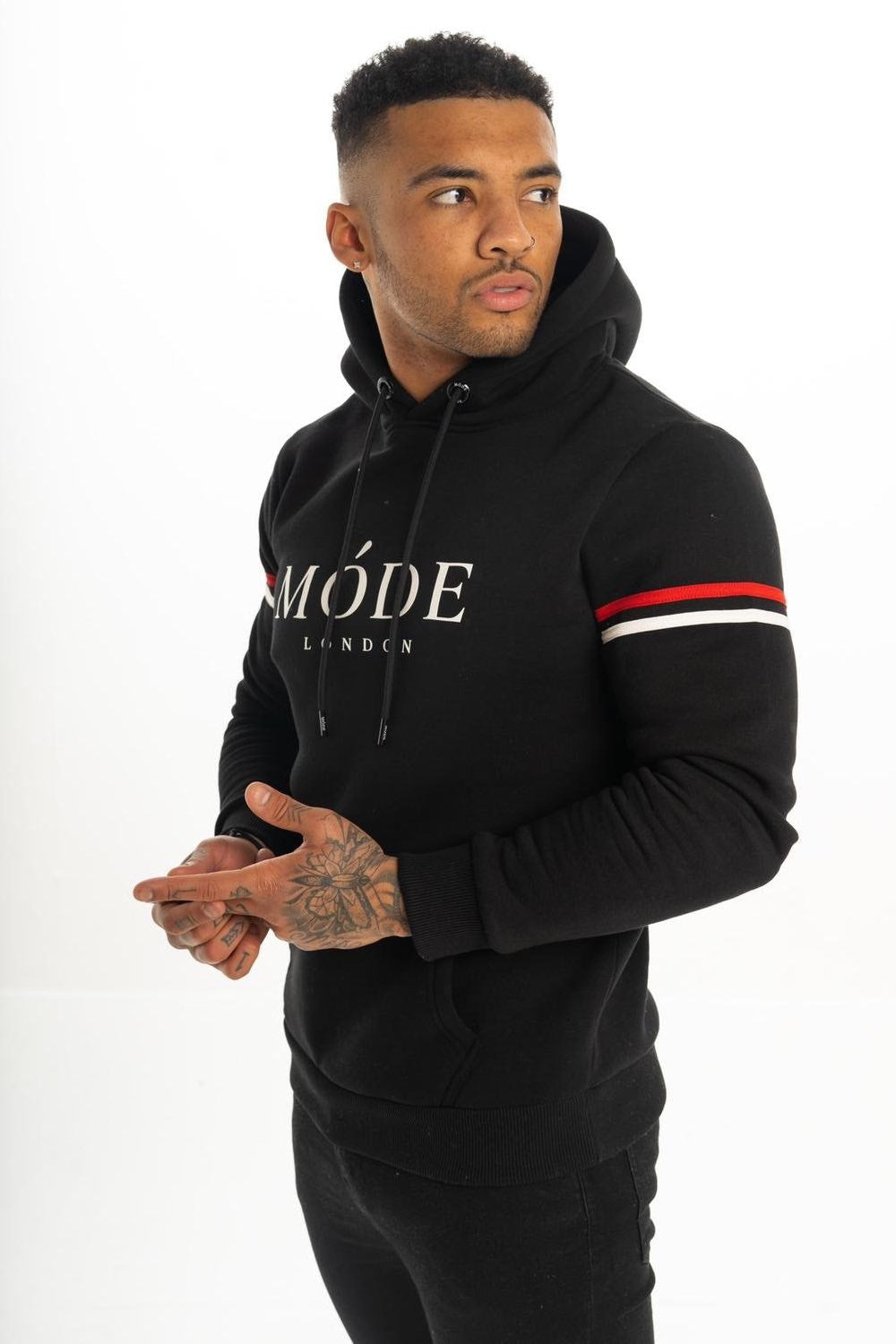 Mode London Mayfair Hoodie - Black - 1