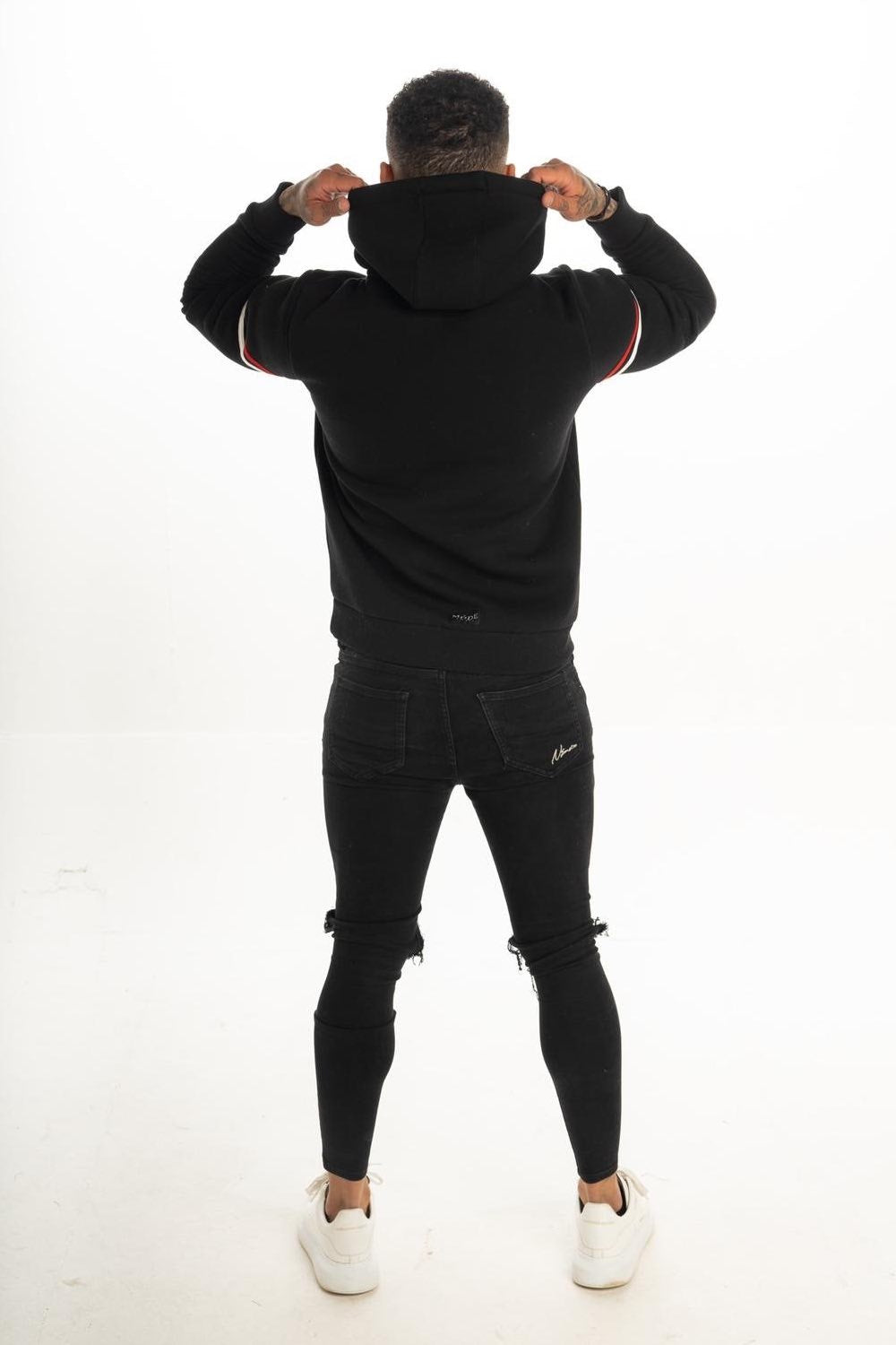 Mode London Mayfair Hoodie - Black - 3